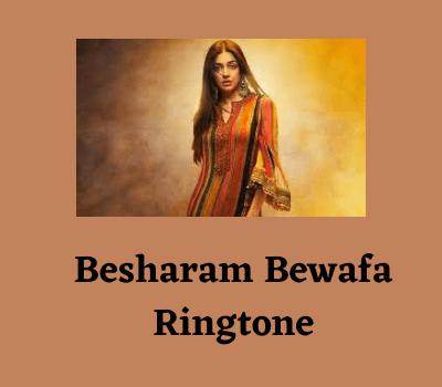 besharam-bewafa-ringtone